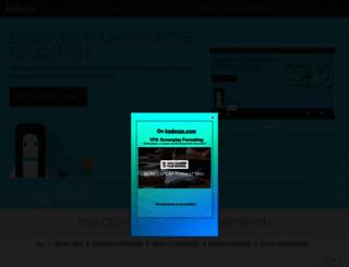 kadenze.com screenshot