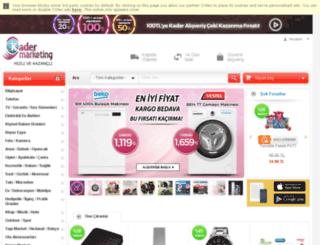 kadermarketing.com screenshot