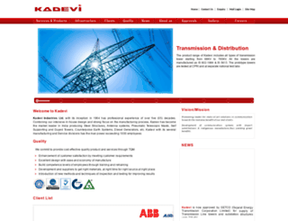 kadevigroup.com screenshot