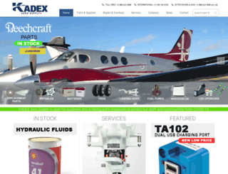 kadexaero.com screenshot