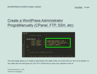 kadimi.com screenshot