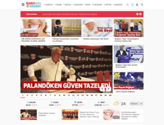 kadindanalhaberi.com screenshot