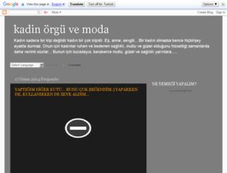 kadinevmoda.blogspot.com screenshot