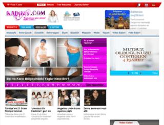 kadinn.com screenshot