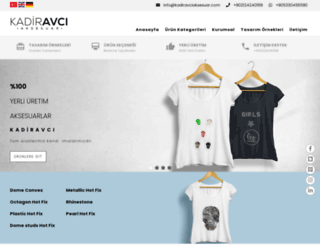 kadiravciaksesuar.com screenshot