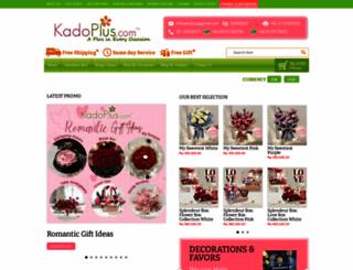 kadoplus.com screenshot