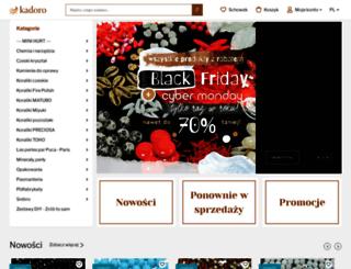 kadoro.pl screenshot