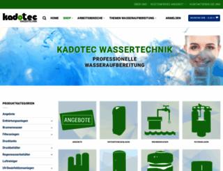 kadotec.de screenshot