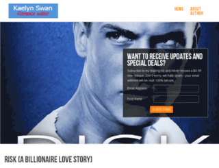 kaelynswan.com screenshot