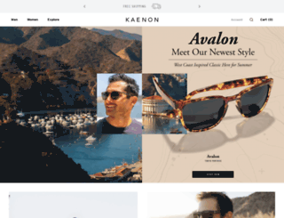 kaenon.com screenshot