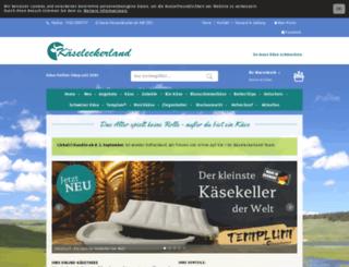 kaeseleckerland.de screenshot