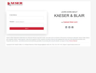 kaesercentral.com screenshot