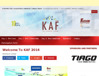 kaf.nepbay.com screenshot