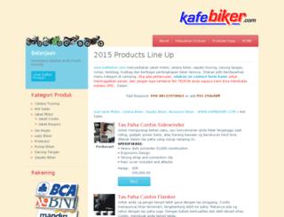 kafebiker.com screenshot