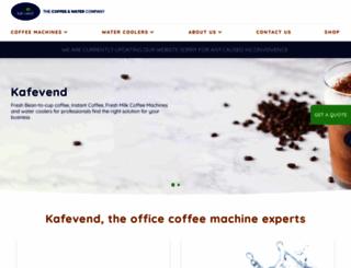 kafevendingmachines.co.uk screenshot