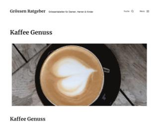 kaffeepadmaschine.eu screenshot