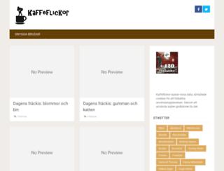 kaffeflickor.se screenshot
