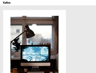 kaftos.com screenshot