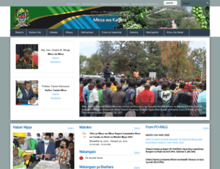 kagera.go.tz screenshot