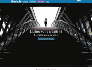 kagero.book.fr screenshot
