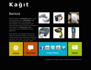kagitbarkod.com screenshot