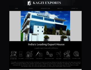 kagziexports.in screenshot