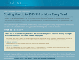 kahme.com screenshot