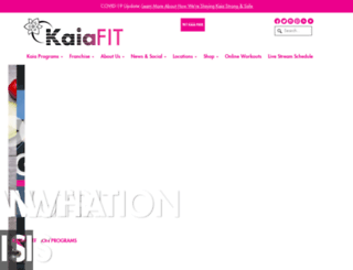 kaiafit.com screenshot
