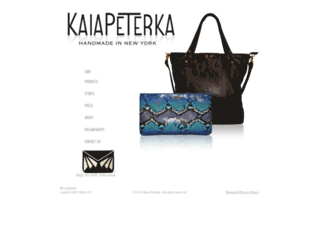kaiapeterka.com screenshot