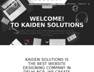 kaidensolutions.in screenshot