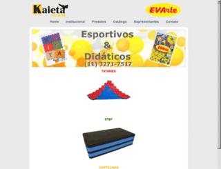 kaieta.com.br screenshot