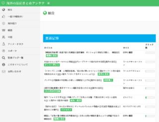 kaigaimatome.com screenshot