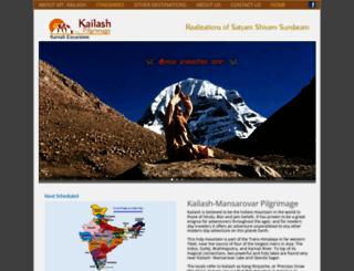 kailashtrekking.com screenshot