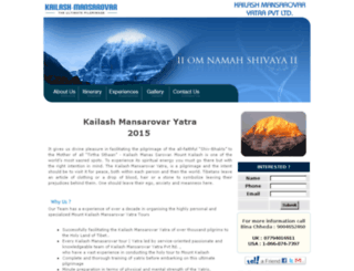 kailashyatra.com screenshot