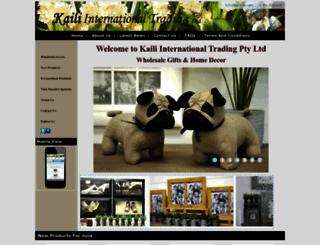 kailiaustralia.com.au screenshot