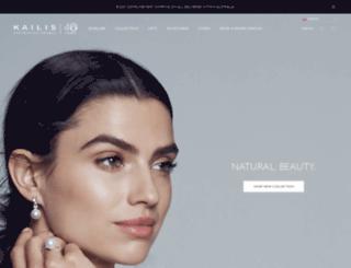 kailisjewellery.com screenshot