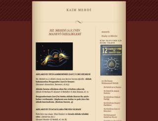 kaimmehdi.wordpress.com screenshot