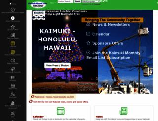 kaimukihawaii.com screenshot