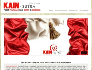 kain-sutra.com screenshot