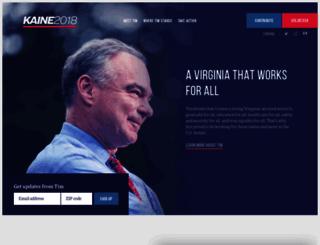 kaineforva.com screenshot