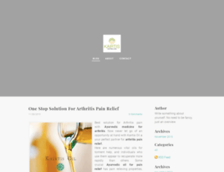 kairtis.weebly.com screenshot