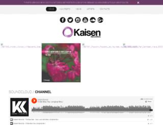 kaisenrecords.com screenshot