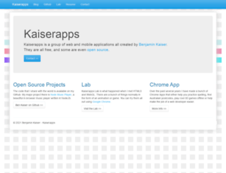 kaiserapps.com screenshot