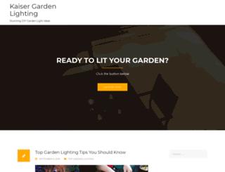 kaisergarden.com screenshot