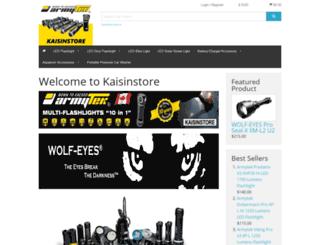 kaisinstore.com screenshot