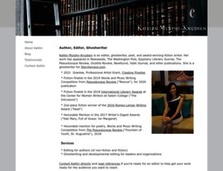 kaitlinmurphy.org screenshot