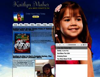 kaitlynmaher.com screenshot