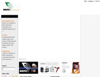 kaito.com screenshot