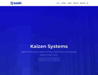 kaizensystems.co.uk screenshot