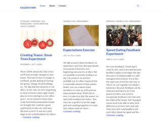 kaizentown.com screenshot